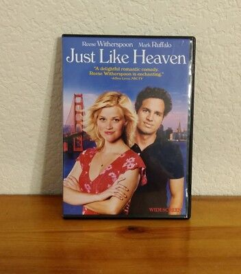 Just Like Heaven DVD 2005 Reese Witherspoon Mark Ruffalo Widescreen