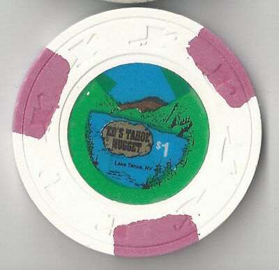$1 Lake Tahoe 1St Edt Ed's Tahoe Nugget Casino Chip Nevada H&c Mold