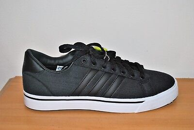 san francisco efaa8 82074 Adidas Mens CF Super Daily Black NEO Cloudfoam Fashion Sneakers - Size 8