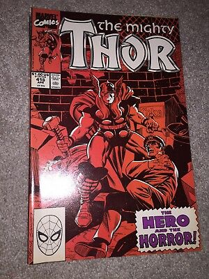 The Mighty Thor #416 1989, Marvel) Near Mint, Comic Book
