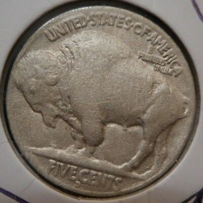 1917 d 5c INDIAN HEAD buffaLO NiCkeL ^ VERY tOUGh dENVER KEY dATE ^ ^hORN detaiL
