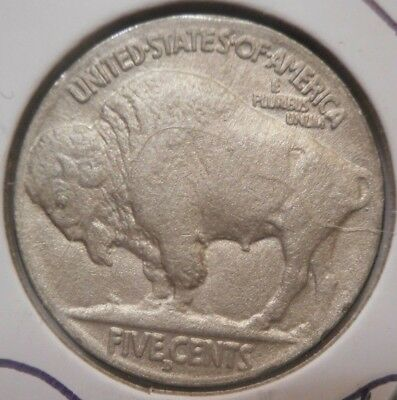 1916 d 5c INDIAN HEAD buffaLO NiCkeL * RARE WWI ERA dENVER KEY! * ^hORN detaiL!