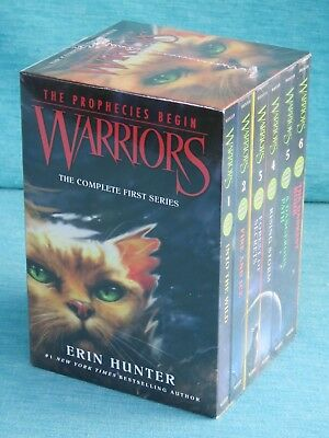 Warriors The Prophecies Begin Complete First Series Erin Hunter New Sealed 6 Boo