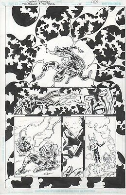 THE BRAVE AND THE BOLD 25 Page 10 Original Art by Roger Robinson