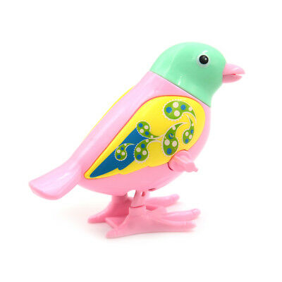 Cute Bird Clockwork Wind Up Toy Jumping Kids Early Educational Toy Color Random