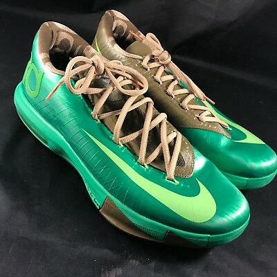 126f24821998 Nike KD 6 VI 599424 301 Bamboo Size 10.5 100% Authentic 599424-301 SAMPLE