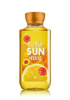 New Bath & Body Works Hello Sunshine 10 oz. Shower Gel