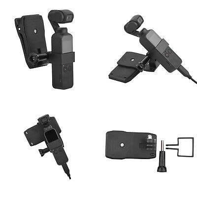 For DJI OSMO Pocket Handheld Stand Expansion Bracket & Backpack Clip Holder Kit