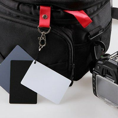 High Quality Exposure Cards 3in1 Digital 18% Gray/White/Black Card Set VG