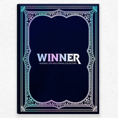WINNER'S 2019 WELCOMING COLLECTION DVD+P.Book+Calendar+Polaroid+Card+Poster+etc