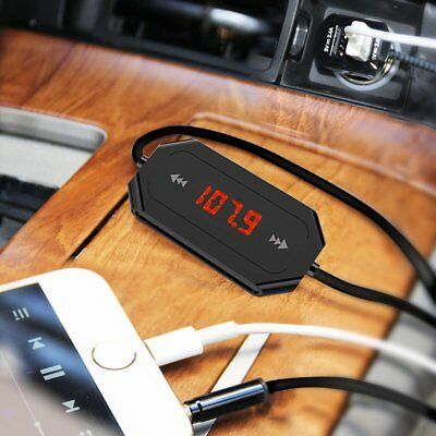 Wireless Bluetooth 3.5MM FM Transmitter Car Kit Mp3 Player with USB Fast Charger