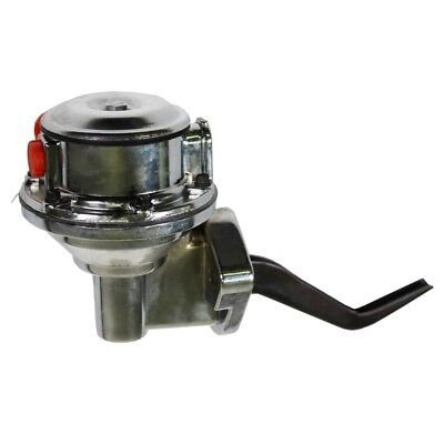 For SBF Ford 390 406 428 CHROME High Volume Mechanical Fuel Gas Pump 140GHP 6PSI