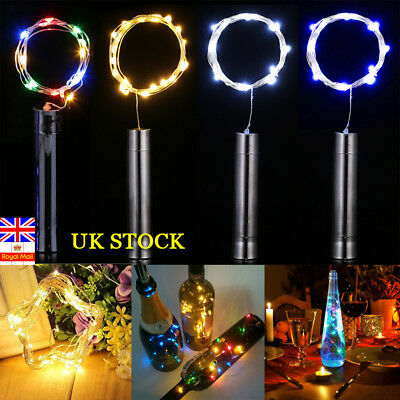 1/3/6 Packs Wine Bottle Cork Fairy String Lights Starry Lamp Warm White Wedding