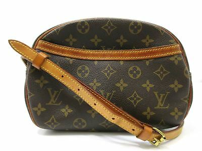 Authentic LOUIS VUITTON Monogram Blois M51221 Shoulder Bag PVC Leather 62672 e7f5322f29eec