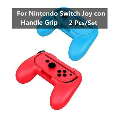 For Nintendo Switch Joy con 2Pack Wear resistant Controller Handle Grip Holder D