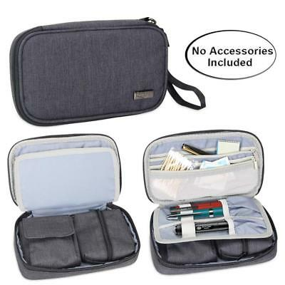 Luxja Diabetic Supplies Travel Case, Storage Bag for Glucose Meter and Other...