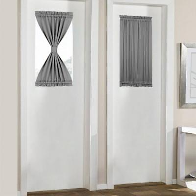Sidelight Sash Curtains Rods Extend 4 12 To 6 12 Inches 2 Per Pack