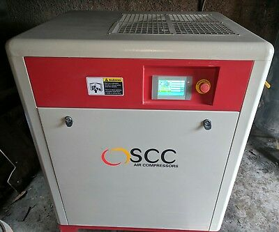 New 11 kw screw compressor