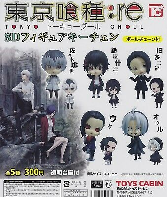 Tokyo Ghoul: re Gashapon SD Figure Keychain Complete Set (5) Toys Cabin
