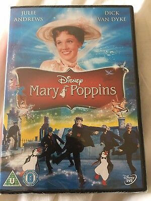 Mary Poppins DVD (UK Version)- Brand New In Wrapping