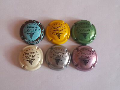 6 Belles Capsules Champagne Vuille Didier News