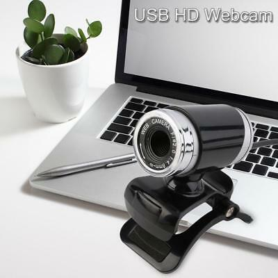USB Network HD Webcam Cam PC Laptop Desktop Camera for Skype Video