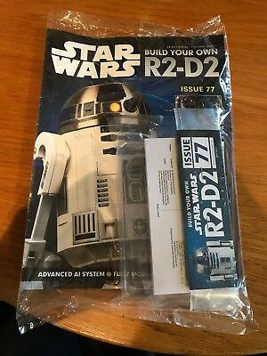DeAgostini Star Wars Build Your Own R2-D2 Issue 77 NEW & SEALED