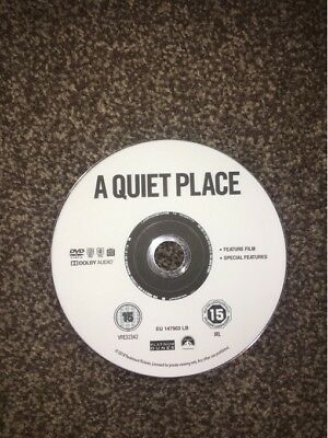 A Quiet Place [2018] [DISC ONLY DVD]