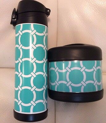 Pottery Barn Teen  Water Bottle & Soup Container Preppy Rings New Pool Gear Up
