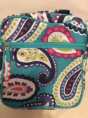 Pottery Barn Teen Gear UP Classic Lunch Bag Paisley Pool NWT