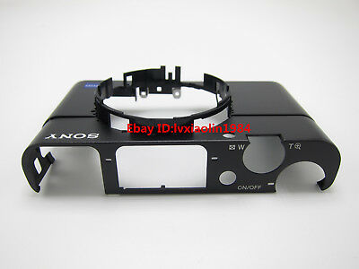 Repair Parts For Sony RX100 V DSC-RX100M5 Top Cover Front Outer Shell Assy New