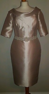 Champagne Veni Infantino Mother Of The Bride Outfit Size:12