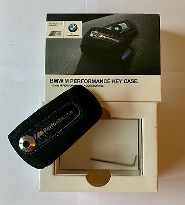 New BMW  M Performance Lettering Logo Key Holder Fob Cover Case UK 🇬🇧