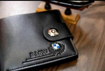 New BMW M Sport Men's Leather Wallet Perfect Gift Idea UK 🇬🇧