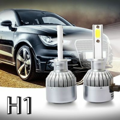 2 pcs C6 LED Phare de Voiture Kit COB H1 36 W 3800LM Blanc Ampoules