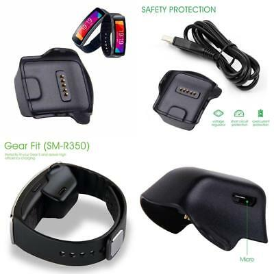 Awinner Charger Cradle Charging Dock Desktop For Samsung Gear Fit R350 Smart Wat