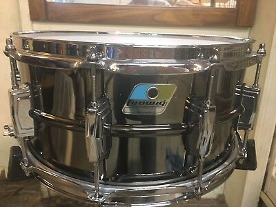 LUDWIG 6.5x14 BLACK BEAUTY SNARE OPEN BOX NEVER USED