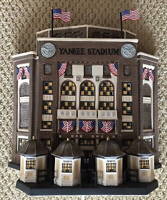 Dept 56 Yankee Stadium Christmas In The City - Free Shipping