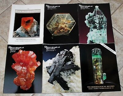 Mineralogical Record 2000 Vol. 31 Numbers 1-6