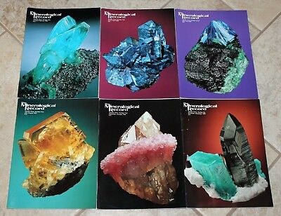 Mineralogical Record 1999 Vol. 30 Numbers 1-6