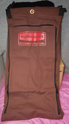 Rubbermaid #9T04-00 Zippered Canvas Linen Bags for Carts  Lots of 3 or 6 S4852
