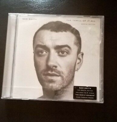 Sam Smith - The Thrill Of It All CD - New & Sealed