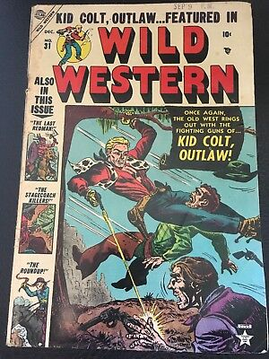Wild Western # 31 Featuring Kid Colt Outlaw By Atlas Publishing
