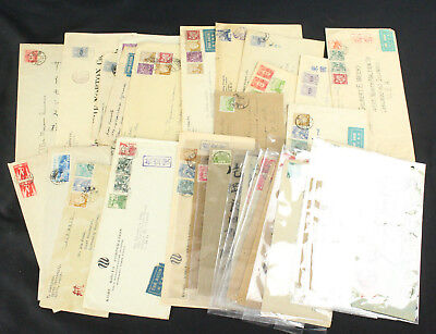 Collection Lot of 33 Japan Covers Early & Rare, Multi Franking, Scarce Cancels++