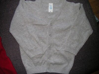 gilet gris - taille 92