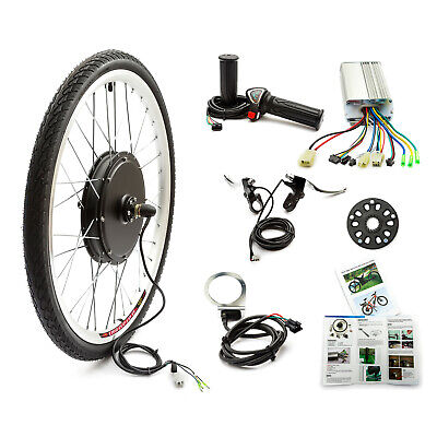 Electric Bicycle Front Wheel Conversion Kit 48v 1000w 26'' 26 Inch Wheel Bike
