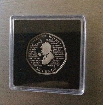 2019 PROOF 50p Coin 160th Anniversary of the birth of Sir Arthur Conan Doyle