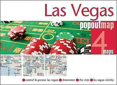 Las Vegas Popout Map - New - Current Edition  - Usa