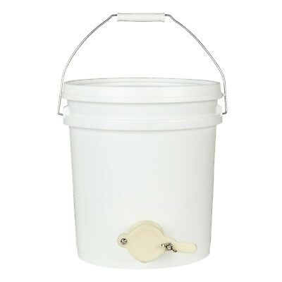 THREE 10 Litre Honey Settling tanks with Honey Gate - Honey Buckets with Valve