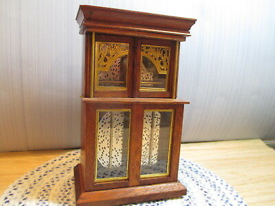Dollhouse UK Escutcheon Music Box & Black Country Miniatures Plays A Time For Us